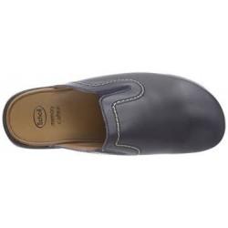 Dr SCHOLL ciabatte pantofole NEW TOFFEE pelle BLU plantare memory leggera morbida