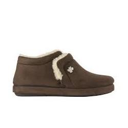 Dr SCHOLL pantofola calda scarpa microfibra pelo CHEIA T.MORO plantare memory leggera morbida