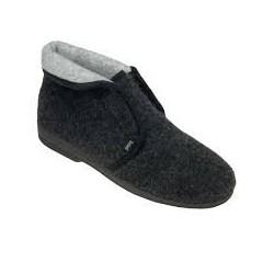 Dr SCHOLL pantofola calda scarpa feltro lana ADELIE MC GRIGIO plantare memory