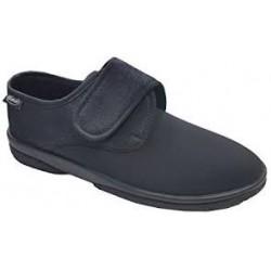 Dr SCHOLL pantofola scarpa RHEMES NERO elasticizzata riabilitazione 1 velcro