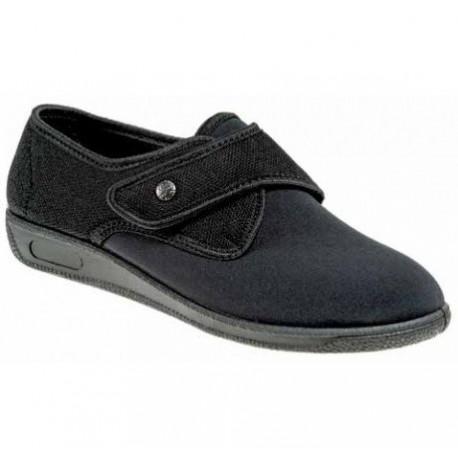 PODOLINE scarpa riabilitativa postoperatoria LEONZIA calzata ampia setaflex NERO
