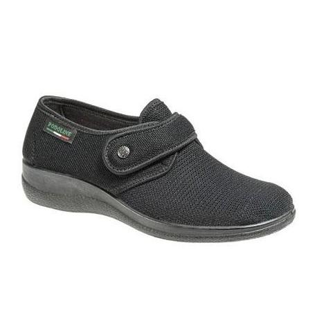PODOLINE scarpa estiva riabilitativa ERIS setaflex elasticizzata microforata NERO