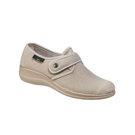 PODOLINE scarpa riabilitativa ERIS setaflex elasticizzata microforata BEIGE