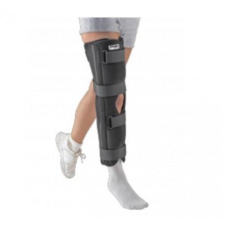 Dr.GIBAUD ortho GINOCCHIERA ZEROGRADI 0527 tutore ortopedico taglie 2 3 4 nero velcri