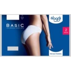 Cotone Sloggi 2 Donna Bianco Mutandina Basic In Slip Confezione Tai Znr4tpnqwx