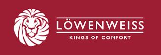 Löwenweiss pantofole in lana cotta