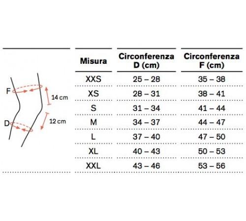 Ginocchiera elastica ortopedica ottobock genu sensa 50k15